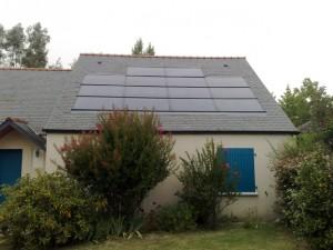 installation panneaux production electricite solaire