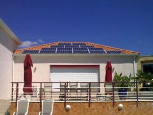 panneaux electrique solaire