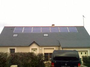 installation cellules photovoltaiques