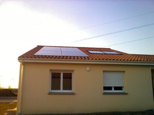 installation capteurs solaire
