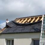 sous couverture de toit